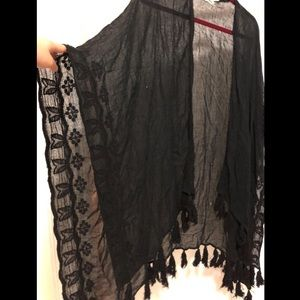 Urban Outfitters Lace Shawl